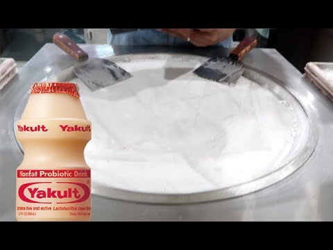 ICE CREAM ROLLS | Yakult Ice Cream Experiment FAIL