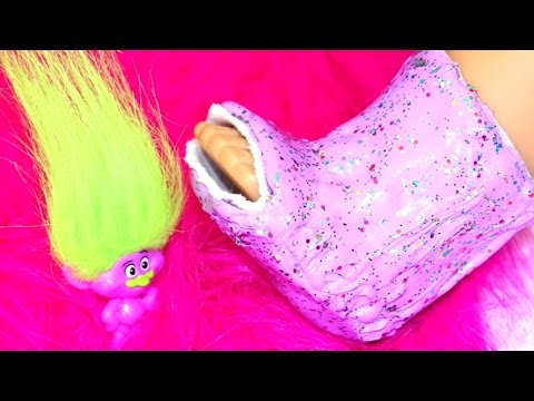 Doll Cast DIY | American Girl Doll Crafts