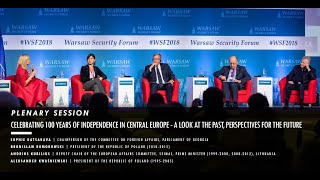 WSF2018 PLENARY SESSION: Celebrating 100 Years of Independence in Central Europe
