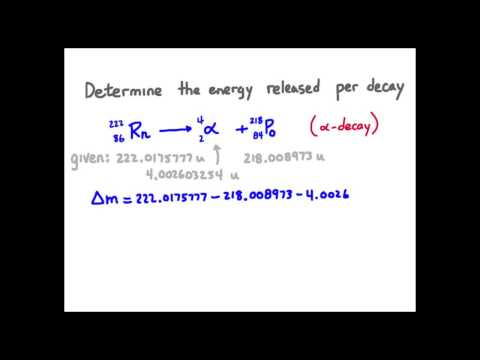 5-energy of a nuclear reaction