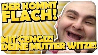 DEINE MUTTER WITZE MIT CENGIZ - DER KOMMT FLACH  #24 [MINECRAFT] [HD]
