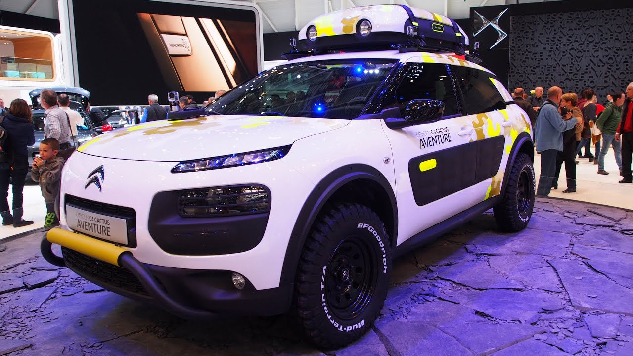 2015 citroen c4 cactus adventure 4x4 exterior and interior walkaround geneva motor show 2014. Black Bedroom Furniture Sets. Home Design Ideas