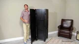 Kanten Room Divider - Black - Product Review Video