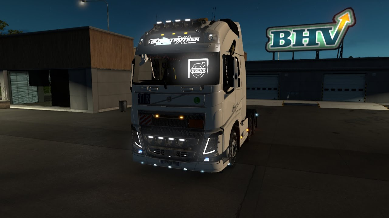 Ets 2 V1 27 New Volvo Fh16 Open Pipe Tuning Youtube