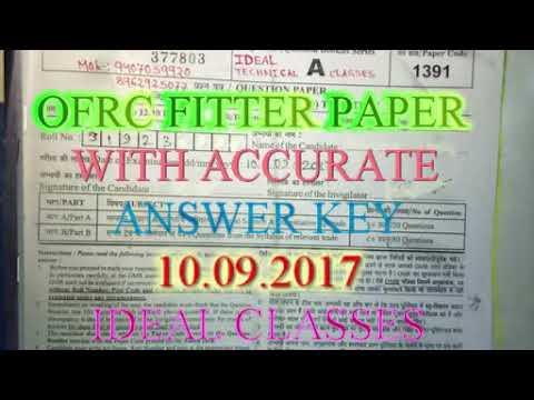 Ofrc solve paper 10.09.2017
