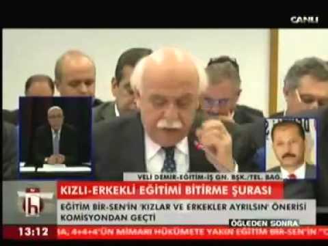 Eğitim İş Genel Başkanı Veli Demir Antalya'da devam etmekte olan 19. Milli Eğitim Şurasında 2. gün görüşülen konular hakkında telefon bağlantısında açıklamalarda bulundu.