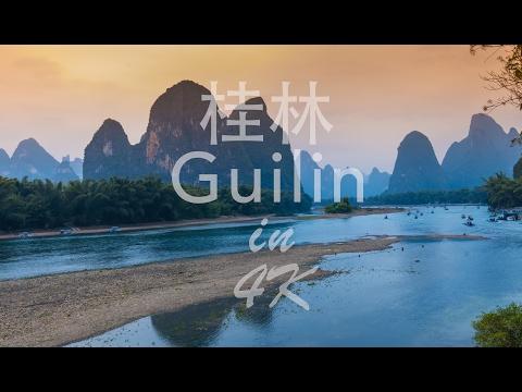 桂林 Guilin in 4K   Mavic Pro Footage