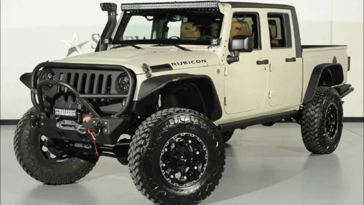 2014 Lifted Jeep Wrangler Unlimited Rubicon Kevlar Coated ...