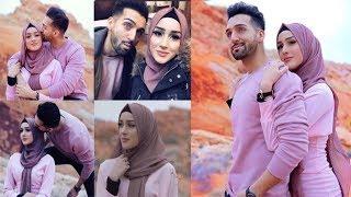 Newly Wed Couple Sham Idrees and Sehar moj masti pictures