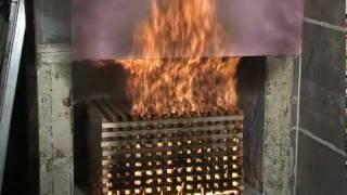 LPS 1581 BS 8414-1 External Cladding Fire Test