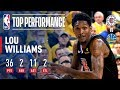 Lou Williams Helps Lead COMEBACK With 36 & 11 Off the Bench | April 15, 2019