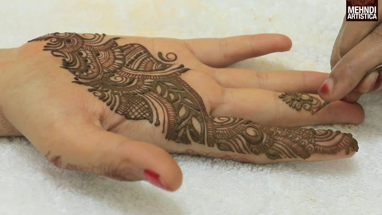 Learn To Draw Simple Arabic Mehndi Designs For Handseasy Beautiful