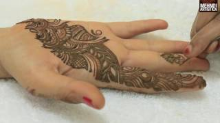 Learn To Draw Simple Arabic Mehndi Designs For Hands|Easy Beautiful Mehendi By MehndiArtistica