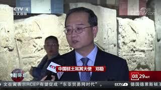 [今日环球]土耳其向中国移交两件中国流失文物| CCTV中文国际