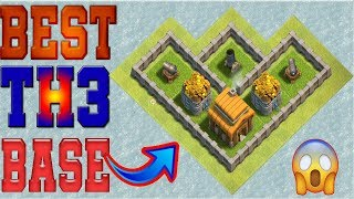 Clash Of Clans Best Town Hall 3 [TH3] Hybrid Base Design  - #3