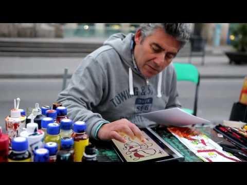 Barcelona Street Art Challenge: Digital Canvas