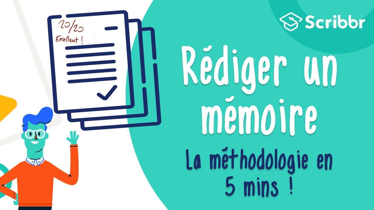 Comment Rédiger Un Mémoire Méthodologie Plan Et Rédaction
