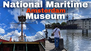 The National Maritime Museum Amsterdam