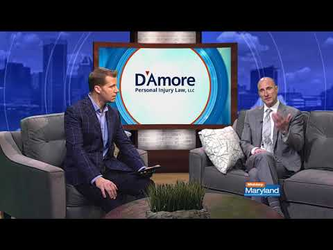 Teen Auto Accidents - Paul D'Amore on Midday Maryland