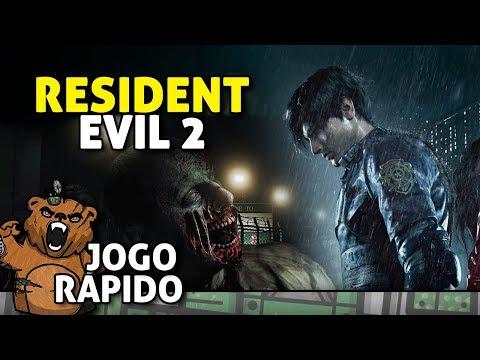 De Volta à Delegacia! | Resident Evil 2 Demo - Gameplay Português PT-BR