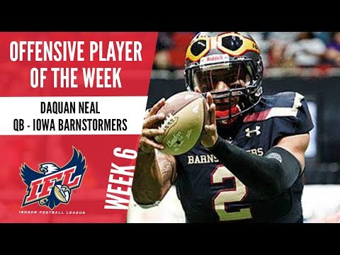 Week 6 Offensive Player of the Week: Daquan Neal