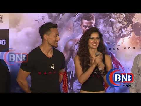 Baaghi 22018 , First Look Poster HOLLYWOOD LOOK  Tiger Shroff Is Back As The Rebellious Lover