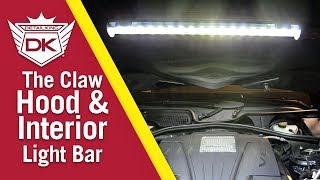 How to Use The Claw Cordless LED Hood/Interior Lamp