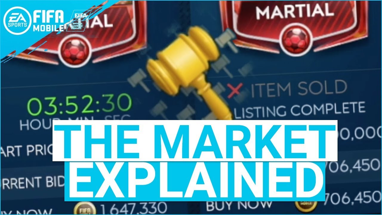 FIFA Mobile Market Ultimate Guide: Sold Items, Tax Paying