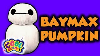 Halloween Big Hero 6 Baymax Pumpkin! Fun Kids Crafts for Halloween | Arts and Crafts w/ Crafty Carol