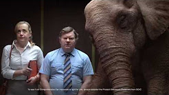 SGIC Insurance The Elephant in the Elevator TV Commercial 2016