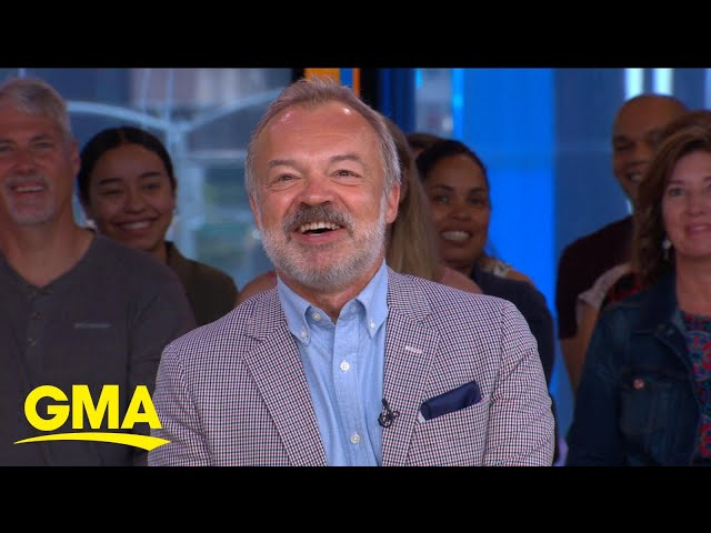 'The Keeper' author Graham Norton reveals big names he wants on his show   GMA