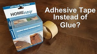 How To Tape Instead Of Glue Down A Vinyl Floor