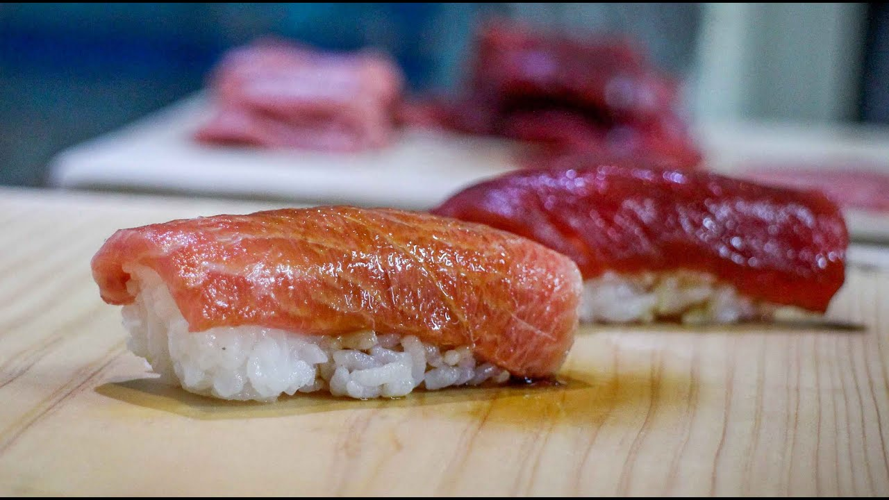 Tuna nigiri how to make tuna nigiri sushi japanese food recipe tuna nigiri how to make tuna nigiri sushi japanese food recipe youtube forumfinder Gallery