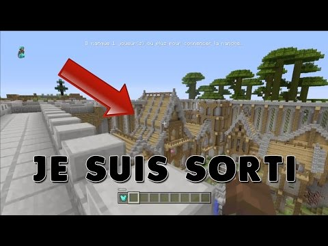Minecraft Console - COMMENT SORTIR DE LA MAP MINI-JEUX VERSION 2 !!! (Ne marche plus)
