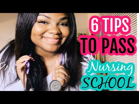 HOW TO PASS AN ACCELERATED NURSING SCHOOL