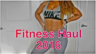 FITNESS HAUL TRY ON NIKE, VICTORIA SECRET PINK | GYM CLOTHING HAUL Best Workout Clothes