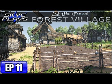 Life Is Feudal Forest Village Let's Play / Gameplay - Ep 11 - CHICKENS
