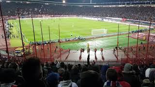 Etoile Rouge de Belgrade - PSG : parcage parisien