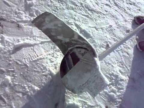 Как сделать из триммера снегоуборщик 778