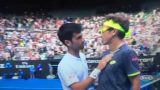 Denis Istomin Upsets Novak Djokovic at the Australian Open