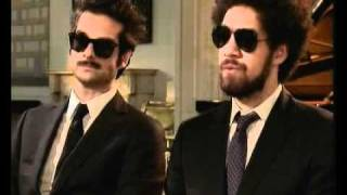 Rome album - Danger Mouse & Daniele Luppi on The Culture Show, BBC2 19th May