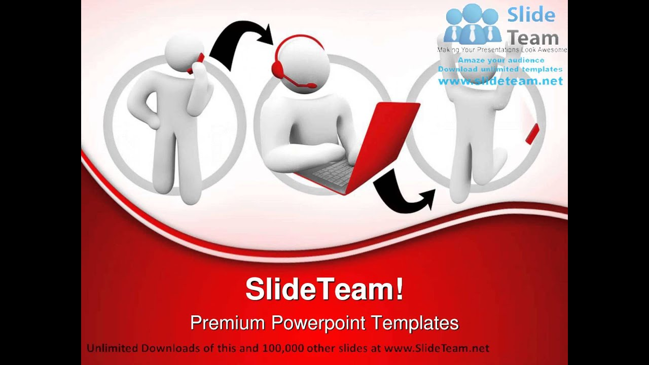 customer satisfaction internet powerpoint templates themes and, Modern powerpoint