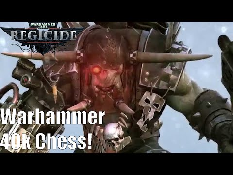 Warhammer 40,000: Regicide Gameplay! Warhammer 40k Chess!