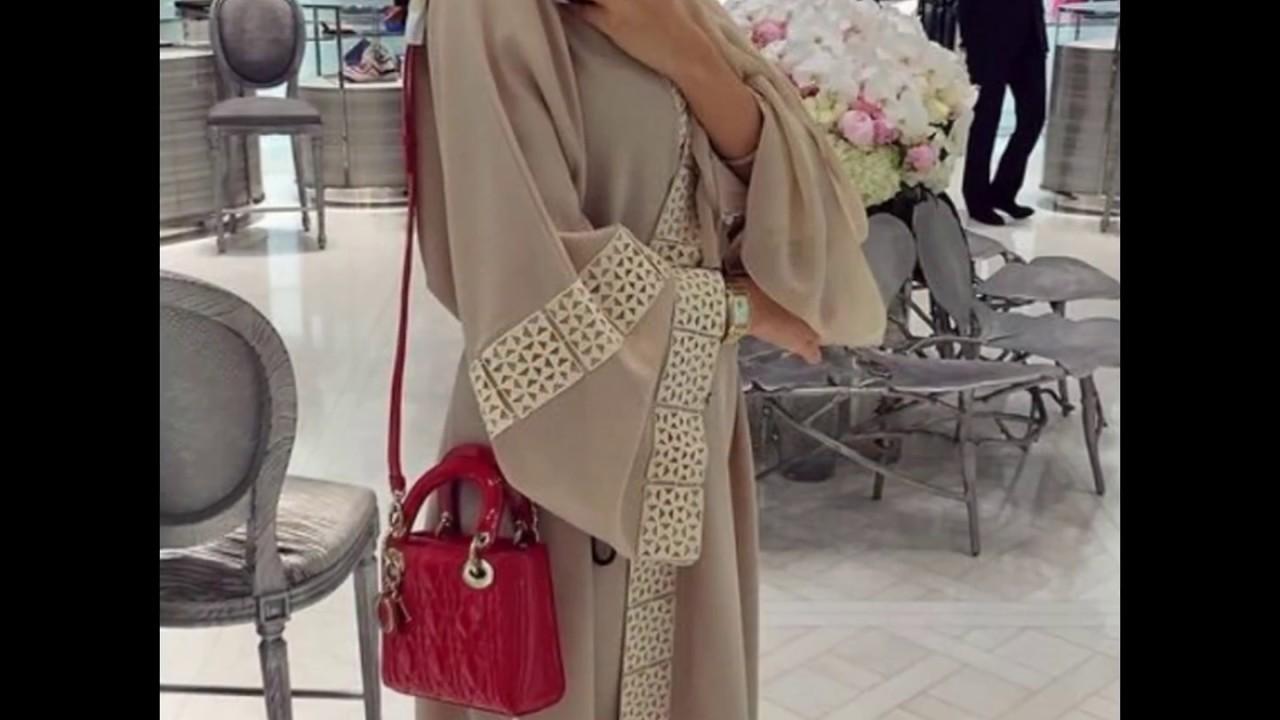 a0f16d40f69c2 عبايات جديدة كاجوال انيقة abaya designs new collection 2017 ...