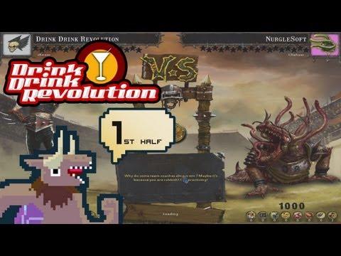 BloodBowl: CE - Drink Drink Revolution - Match 1 First half v. Nurgle