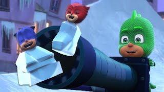 Герои в масках | Ледяной план Гекко | Нарезка из целых эпизодов | мультики для детей