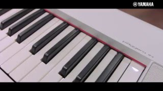 Видеообзор Yamaha NP12 - цифрового клавишного инструмента серии Piagerro