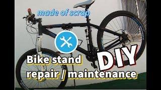 How to Make a Bike repair / maintenance Stand - DIY