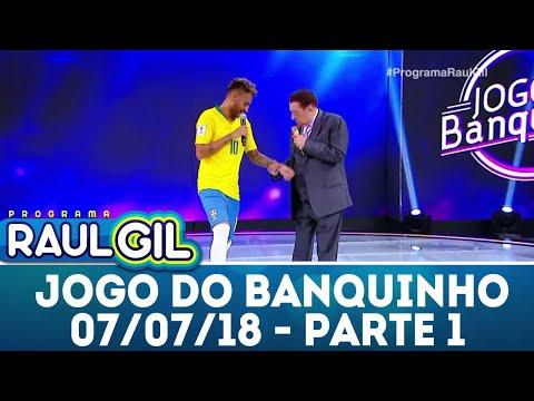 Jogo do Banquinho - Parte 1 - 07/07/18 | Programa Raul Gil