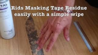 Easy Ways to Remove Scotch Tape/Crayon/Stickers/Masking Tape
